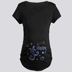 DNO January [blue] Maternity T-Shirt